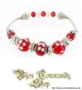 """Beads """"Rot"""""""