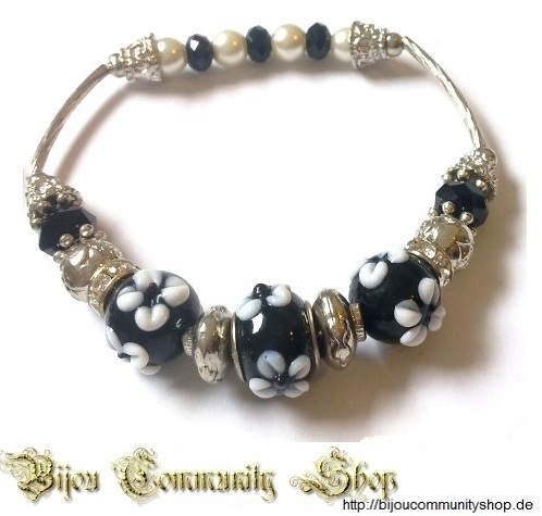 "Beads ""Luxus~black"" (+995P)"