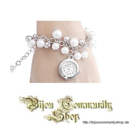 Damenuhr Snow (Weiß / silberfarben)