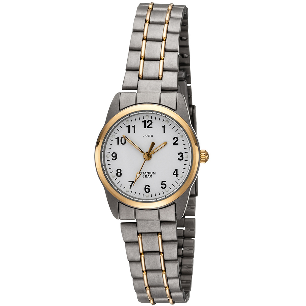 Damen Armbanduhr Quarz Analog Titan