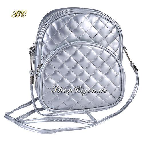 Designer Vintage Handtasche silber
