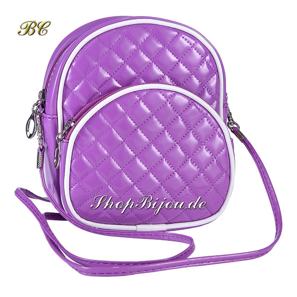 Designer Vintage Handtasche lila