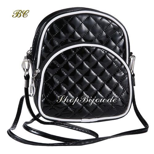 Designer Vintage Handtasche schwarz