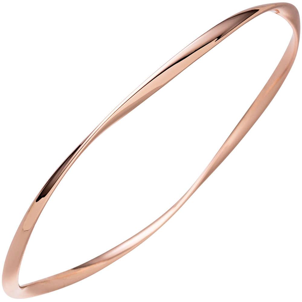Armreif Armband rotgold vergoldet