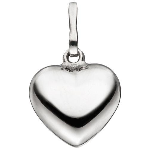 Herz 925 Sterling Silber Herzanhänger Silberanhänger Silberherz